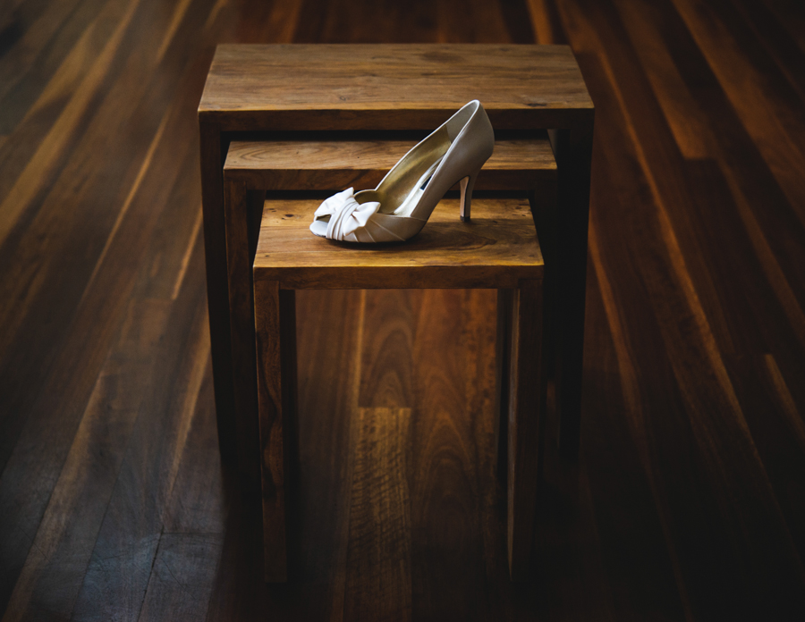 Central Coast Bridal accessories and shoes photography