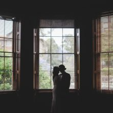 Wedding Photography Elizabeth Bay House Silhouette