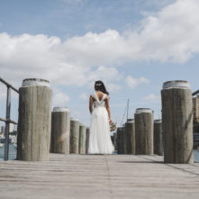 Bride wedding photography in Lavender Bay, Sydney