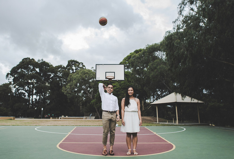 Engagement and Pre-wedding Photography in Ballast Point Sydney NSW