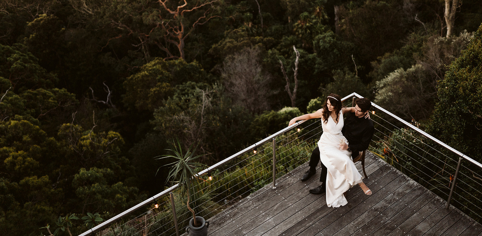Bilgola Plateau Northern Beaches wedding photography with Kate and Mitchell